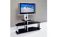 Тумба по ТВ V220-2 (LCD/Plazma) (сатин+стекло)