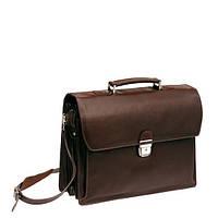 Деловой мужской кожаный портфель  , фото 1