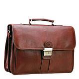 Кожаный портфель мужской, фото 3