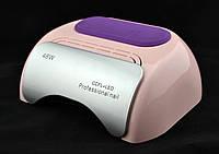 Гибридная CCFL+LED лампа UKC 48W K18 Розовый #S/O