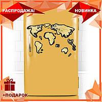 Скретч Карта Мира Travel Map ® Black Europe   карта путешествий   карта желаний   оригинальный подарок