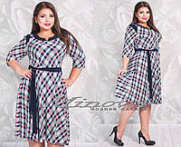 Красивое платье большого размера 50-56