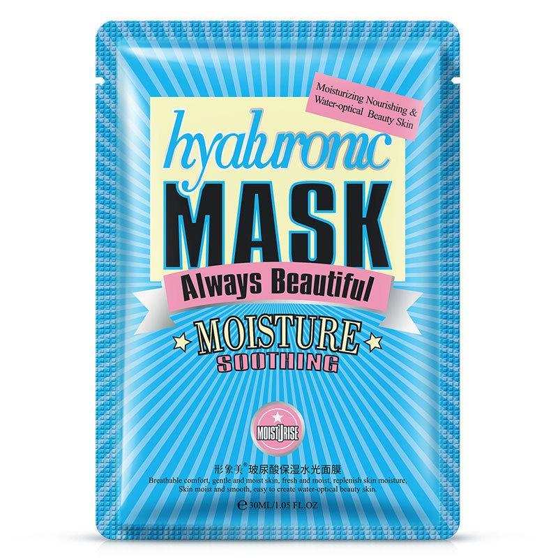 Тканевая маска для лица с гиалуроновой кислотой Bioaqua Hyaluronic Mask Always Beautiful 30 г