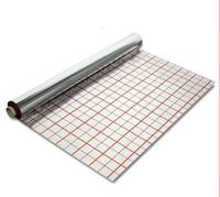 Теплоотражающая подложка 20 (мк, µ) 50 М с разметкой фольгированная для теплого пола