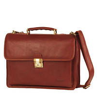 Мужской классический кожаный портфель