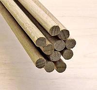 Палочки деревянные круглые 8мм*70см бук.