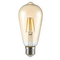 Светодиодная лампа Kanlux ST64 FIL LED 6W E27-WW (26041)