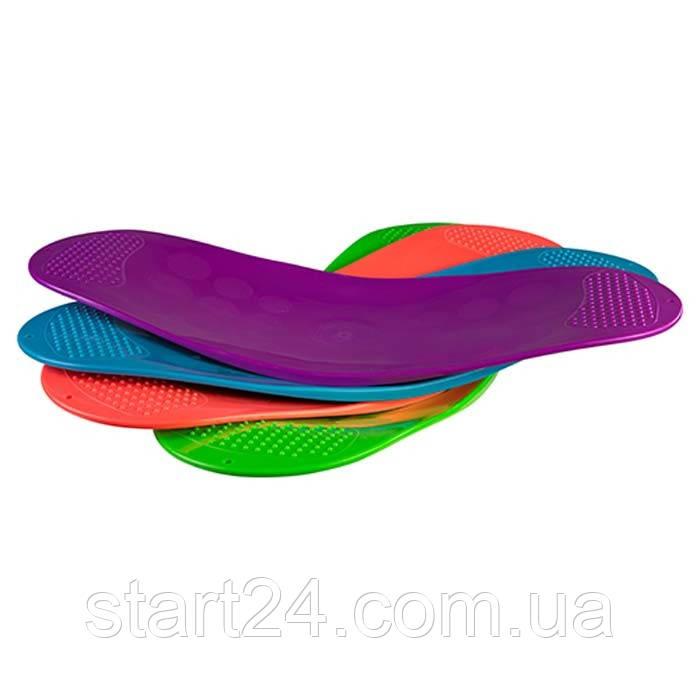 Балансировочная доска Workout Board Twist, 4 цвета. Скидка от 20шт - 7%