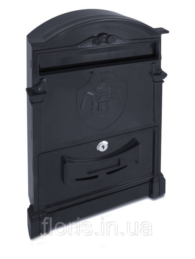 Почтовый ящик VITA цвет чёрный