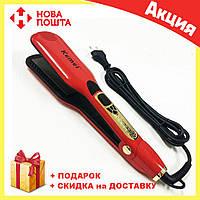 Утюжок для волос Kemei ZFQ-KM-6863 | выравниватель | выпрямитель | утюжок для выпрямления, фото 1