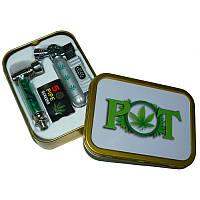 Подарок мужчине Стильный набор для курения 3 в 1 (зажигалка сетка трубка) №2472 Что подарить Успей приобрести!