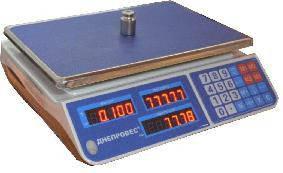 Торговые весы электронные настольные ДНЕПРОВЕС F902H-EL1/CL1