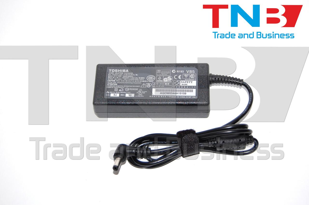 Блок питания Toshiba 1135-S1554 1135-S156 1200-S121 1200-S122 F1605CDS 19V/3.42/65W  H-COPY Класс А