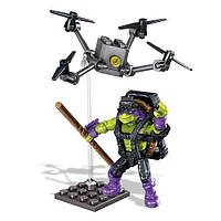 Конструктор Донателло Супер трюки, 40 дет. (Donatello, Drone Pursuit, Tmnt, Mega Bloks (138369)