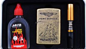 Набор мужчины Набор 3 в 1 (Мундштук Бензин Зажигалка) №3865 Что подарить Подарочные наборы подарок мужчине