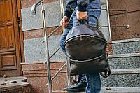 Коричневый мужской рюкзак, Кожаный городской рюкзак, фото 1
