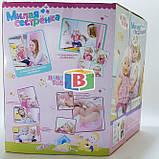Кукла пупс Милая сестренка аналог куклы Baby Born. Розовый с белым, фото 3