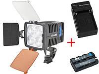 Cветодиодный накамерный видео свет F&V X-5 (Оригинал) LED Video Light - Sony, Panasonic, Canon (X-5)