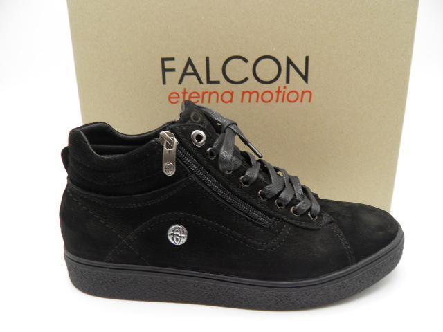 Черевики * Falcon 3615 чорний нубук