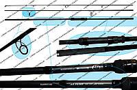 Карповое удилище Alivio DX Specimen 12-300 3 PCS (Спиннинги, Удочки)