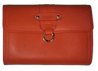 Отличный женский кожаный вместительный кошелек  , фото 1