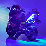 Детский электромотоцикл. Световые и звуковые эффекты. USB,TF. Bambi M 3681AL-6 Зеленый, фото 3