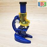 Детский игровой микроскоп с телескопом 2 в 1. Научная лаборатория 16 предметов, фото 4