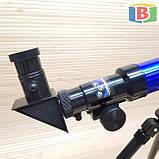 Детский игровой микроскоп с телескопом 2 в 1. Научная лаборатория 16 предметов, фото 7