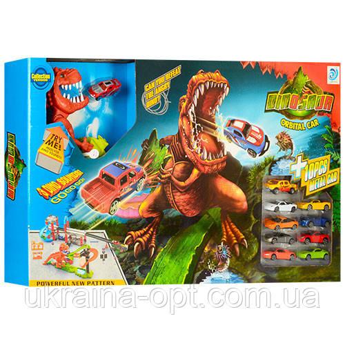 Детский трек динозавр 8899-94