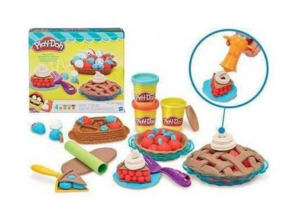 Набор для лепки Ягодные тарталетки, 4 баночки, Play-Doh (B3398) ОРИГИНАЛ