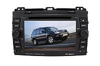 Штатная автомагнитола с GPS навигацией для автомобилей Toyota Prado 2002-2009