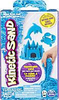 Песок для детского творчества Neon, Kinetic Sand & Kinetic Rock (71423B) Голубой