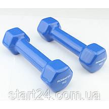 Гантели 2* 1кг, винил, IronMaster, фото 3
