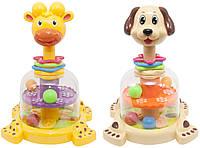 Юла детская Собачка Жираф Baby Team (8626)