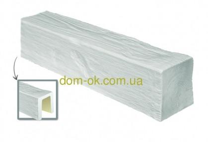 Балка из полиуретана DecoWood Модерн ED 105  classic белая 19х13/ длина 2м