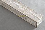 Балка из полиуретана Рустик EQ 004  classic светлая 19х17/ длина 4м, фото 6