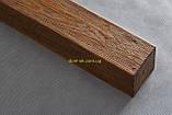 Балка из полиуретана Рустик EQ 004  classic светлая 19х17/ длина 4м, фото 9
