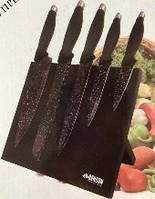 Набор кухонных ножей с мраморным покрытием подставка магнит BN409