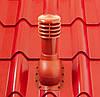 Вентиляционный выход ХОЛОДНЫЙ для металлочерепицы высотой волны до 34 мм  110 мм