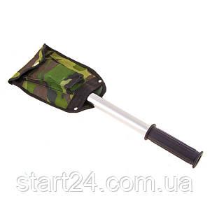 Лопата туристическая 4*1: лопата, топор, пила, нож. Скидка при заказе от 25 шт.