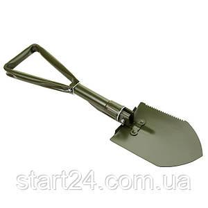 Лопата туристическая складная, L=60см , LS104. 2цвета. Скидка при заказе от 2ящ.