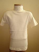 "Блузка школьная ""Американка"" 116 см. белая"