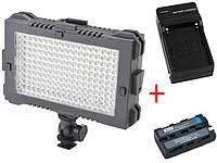 Cветодиодный накамерный свет F&V Z180S Bi-color LED Light Panel (Би-светодиодная) (Z180S)