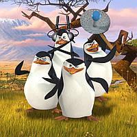 """Подушка """"Пингвины Мадагаскара"""""""