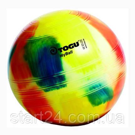 Мяч фитнес Togu 75 см, MyBall, разноцветный (Marble), фото 2