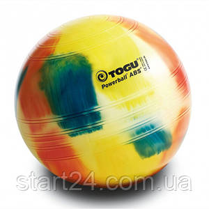 Мяч фитнес Togu PowerBall 65 см, разноцветный (Marble)