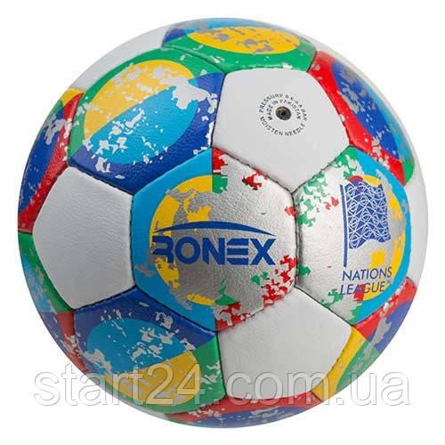 Мяч футбольный Grippy Ronex AD/Nation