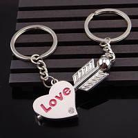 Парні брелоки для закоханих Купідон / Парные брелки для влюбленных Купидон (брелоки для двоих)