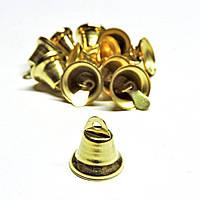 Колокольчик 12мм золотистый