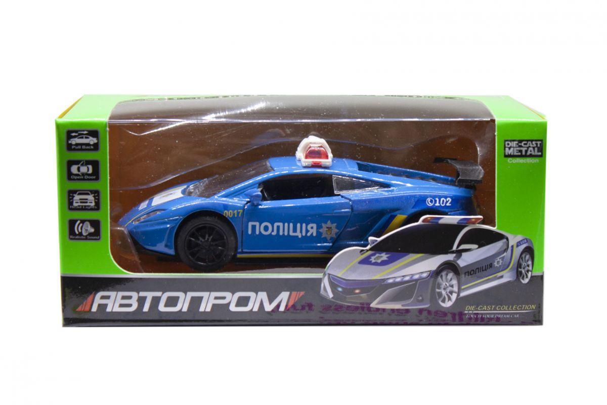 МашинкаПолиция Lamborghini из серии Автопром